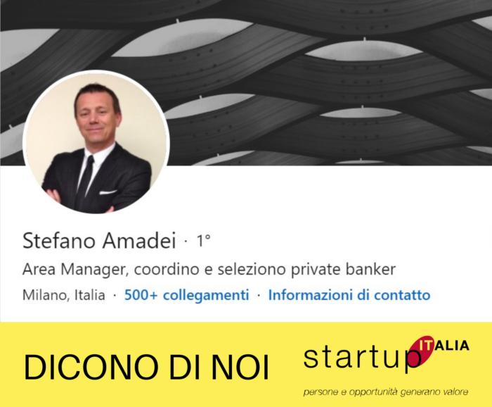 referenze Startup Italia - Stefano Amedei