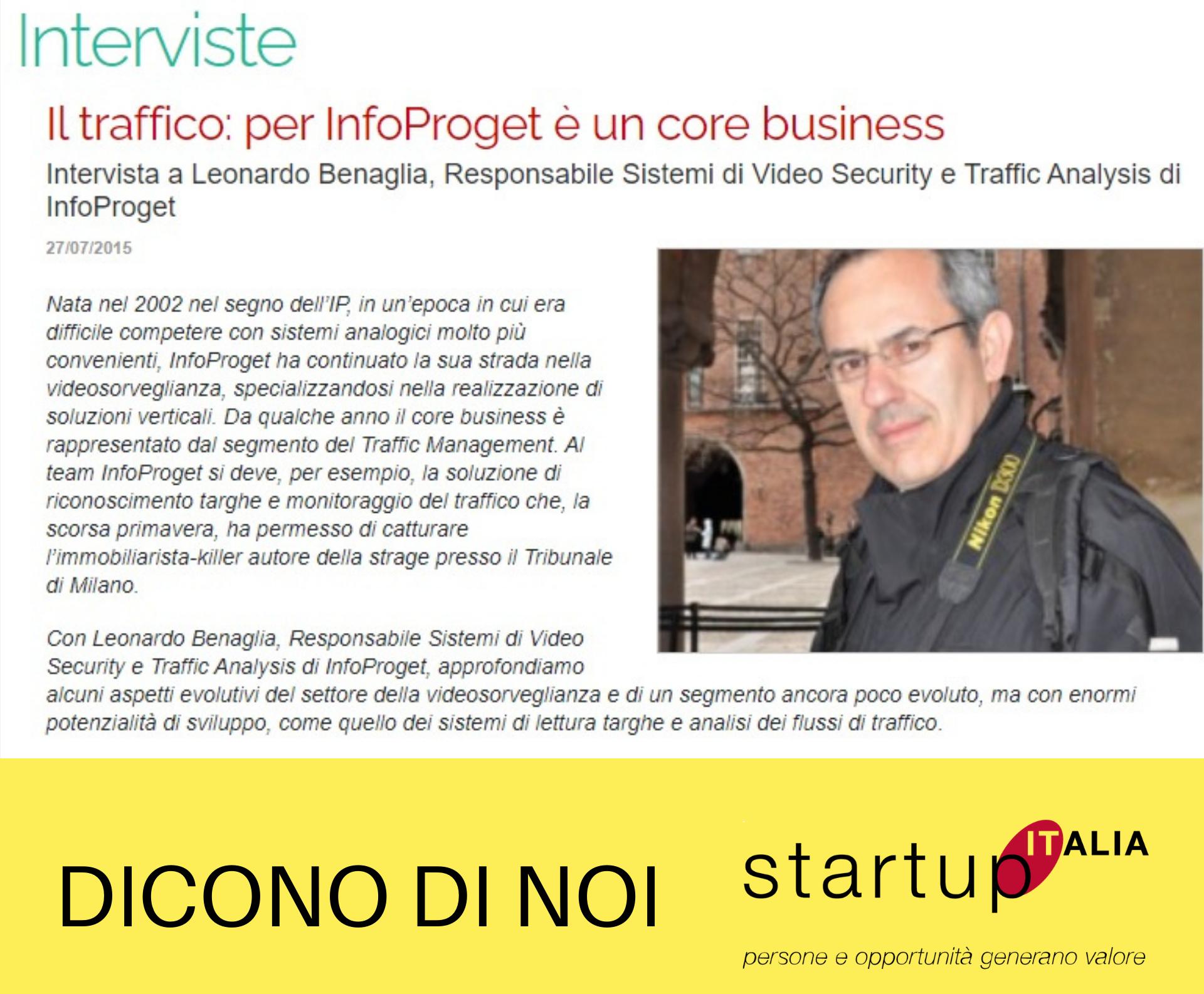 Referenze Startup Italia - Leonardo Benaglia