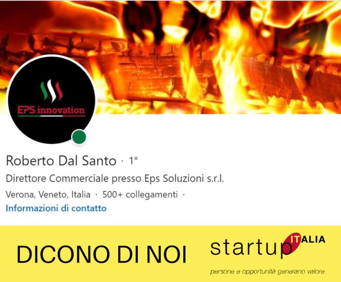 referenze Startup Italia - Roberto dal Santo