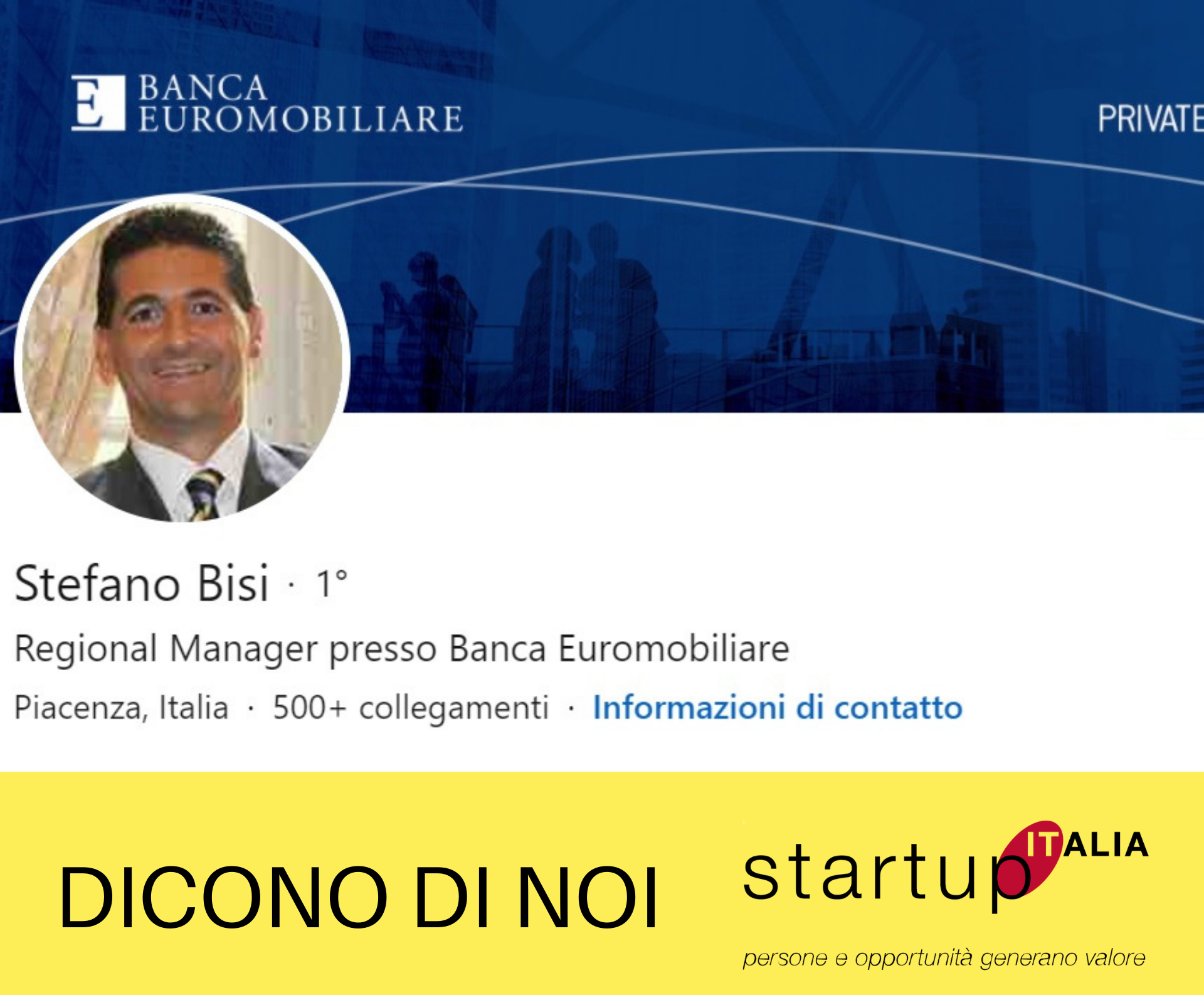 referenze Startup Italia - Stefano Bisi
