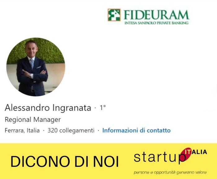 referenze Startup Italia - Alessandro Ingranata