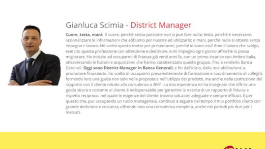 referenze Startup Italia - Gianluca Scimia