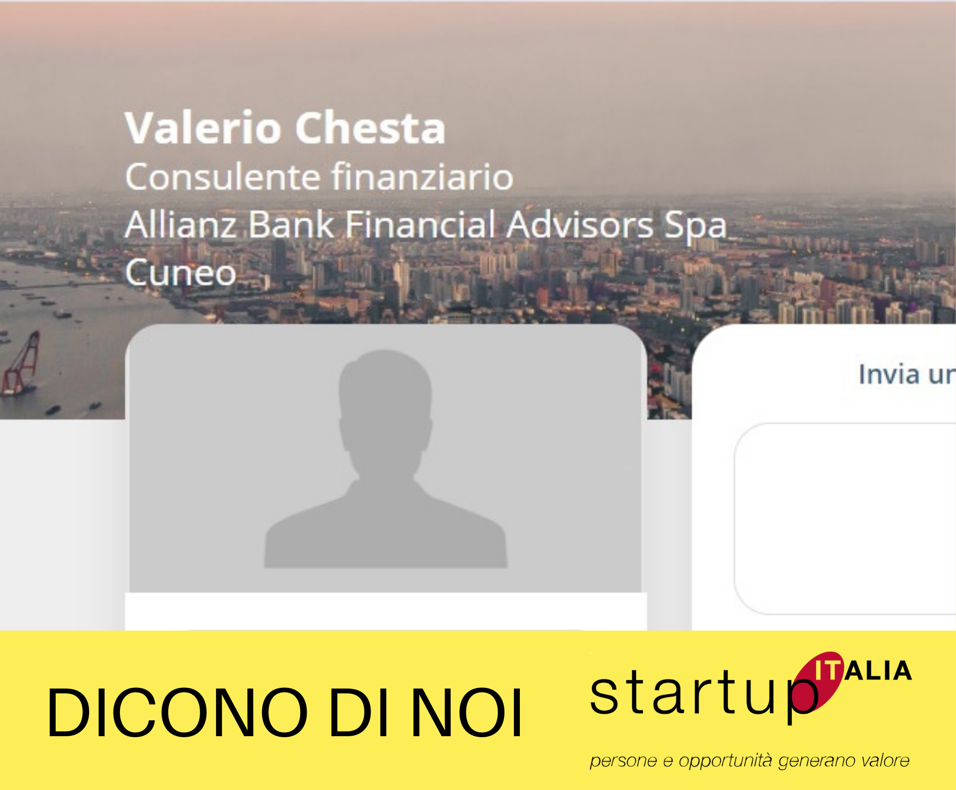 Valerio Chesta – Financial Advisor presso Allianz Bank F.A. spa