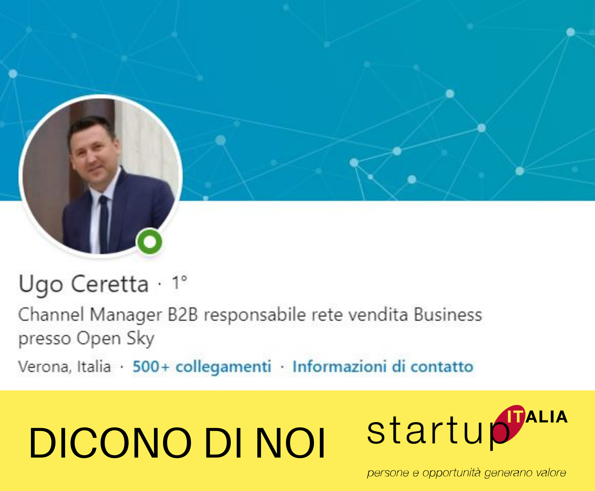 Ugo Ceretta – Channel Manager B2B presso Big Blu