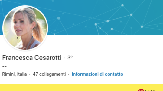 referenza Startup Italia - Francesca Cesarotti