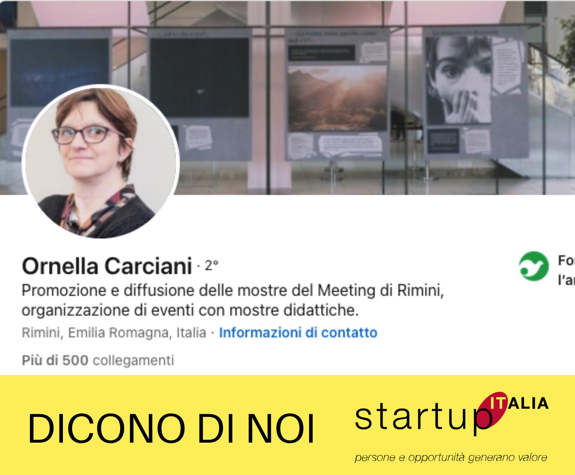 Ornella Carciani – Collaboratrice Start Up Italia