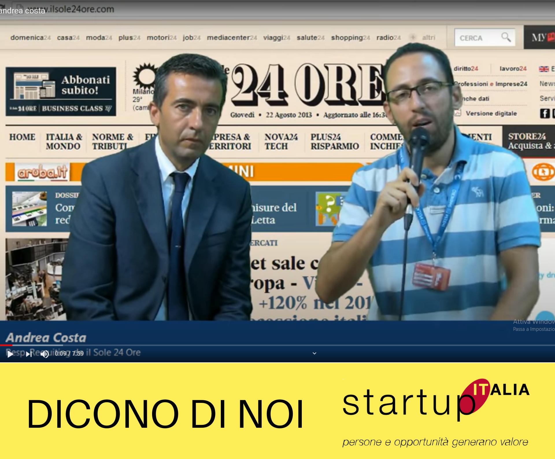 Andrea Costa – Responsabile Sales Academy & Recruiting Il Sole 24 Ore